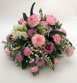 Pink Posy Funeral